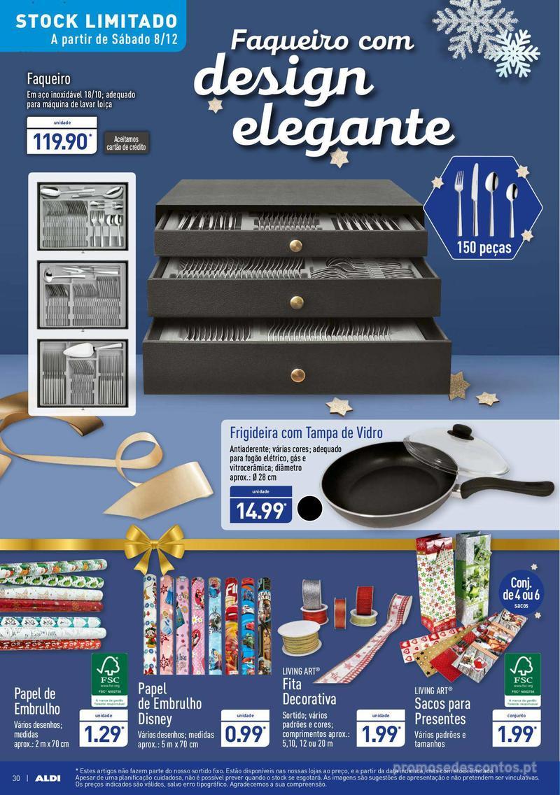 Folheto Aldi Um Natal elegante - 5 de Dezembro a 11 de Dezembro - página 30