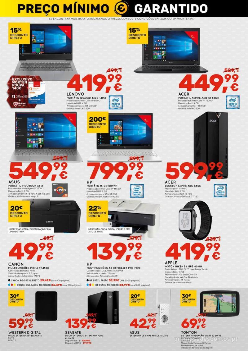 Folheto Worten Se encontrar mais barato, igualamos o preço - 8 de Agosto a 14 de Agosto - página 10