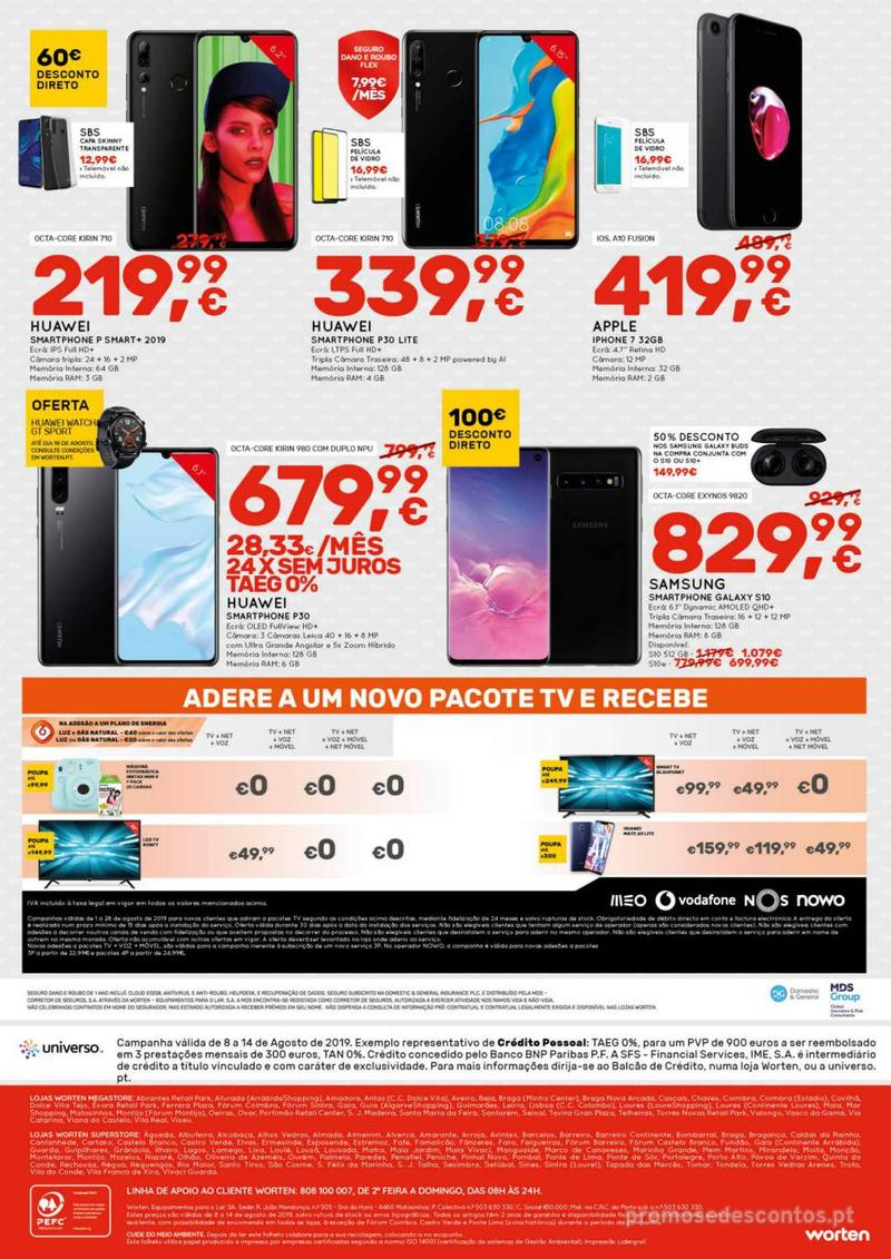 Folheto Worten Se encontrar mais barato, igualamos o preço - 8 de Agosto a 14 de Agosto - página 12