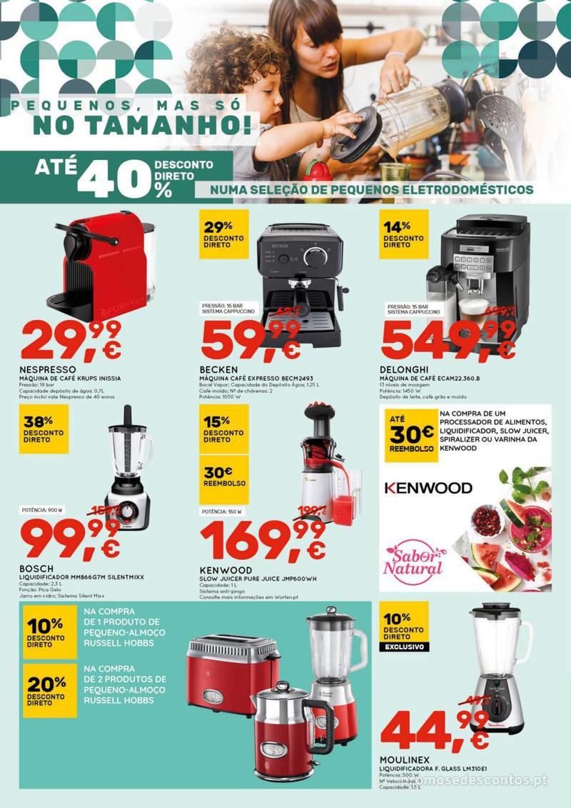 Folheto Worten Se encontrar mais barato, igualamos o preço - 8 de Agosto a 14 de Agosto - página 4