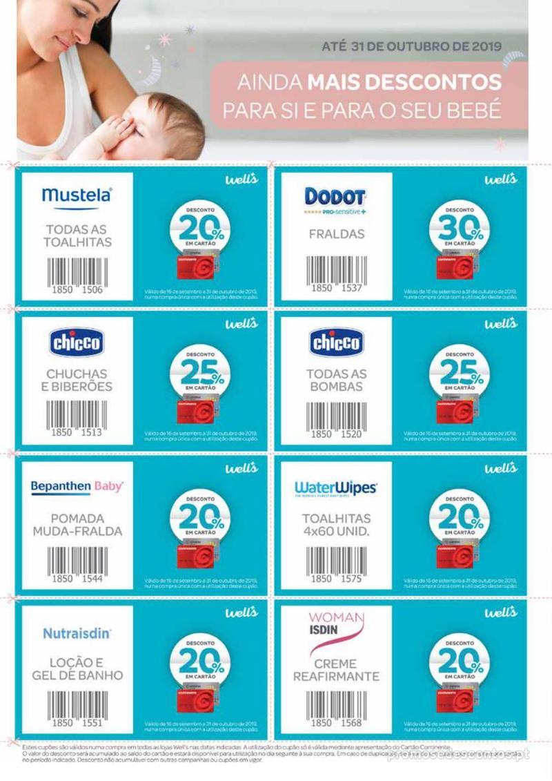 Folheto Wells Especial Bebé e mamã - 20 de Agosto a 15 de Setembro - página 20