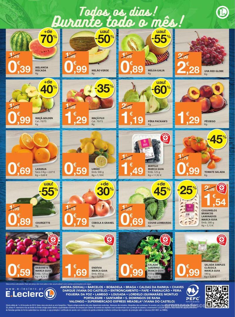 Folheto E.leclerc Tem frescos como ninguém - 1 de Junho a 30 de Junho - página 8