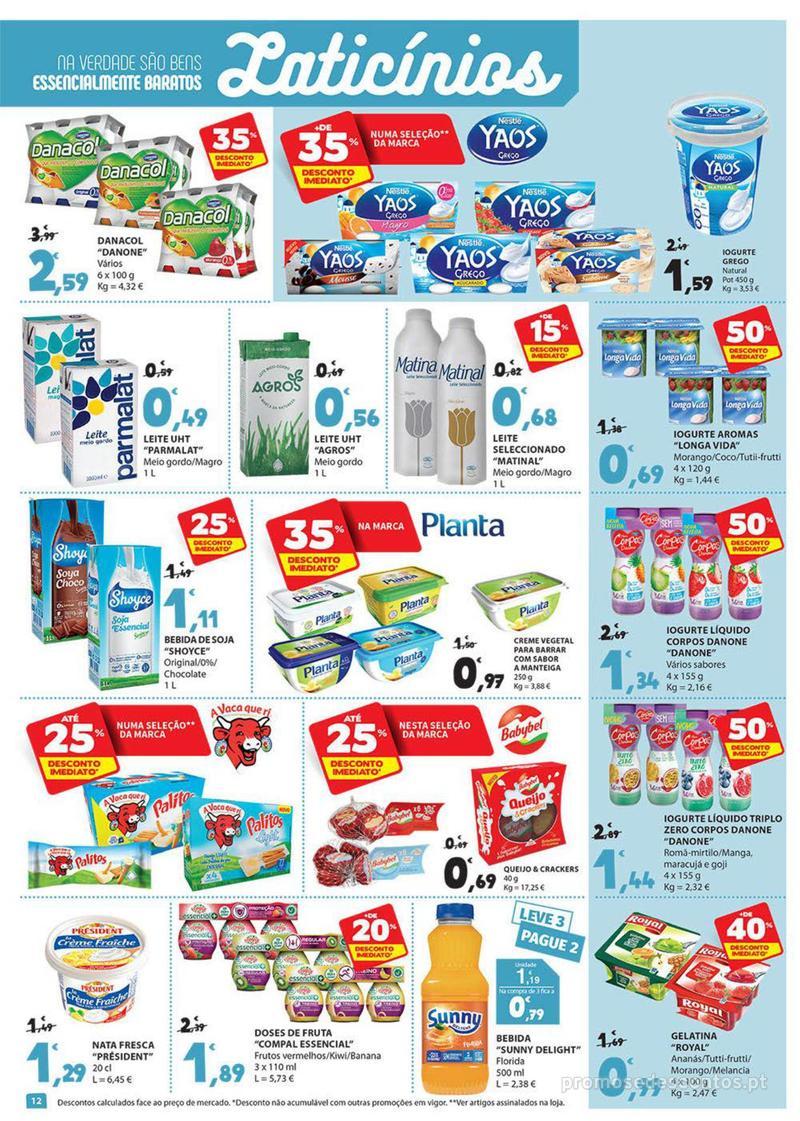 Folheto E.leclerc Preço Baixos mesmo de verdade - 4 de Dezembro a 10 de Dezembro - página 12
