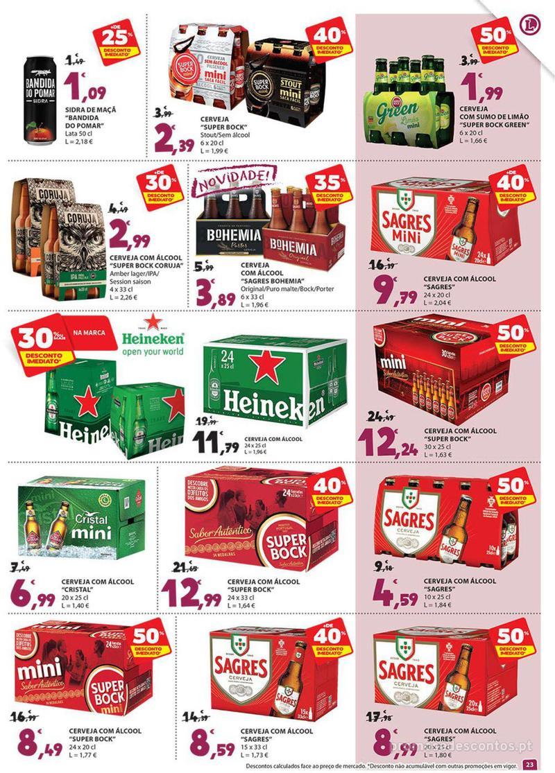 Folheto E.leclerc Preço Baixos mesmo de verdade - 4 de Dezembro a 10 de Dezembro - página 23