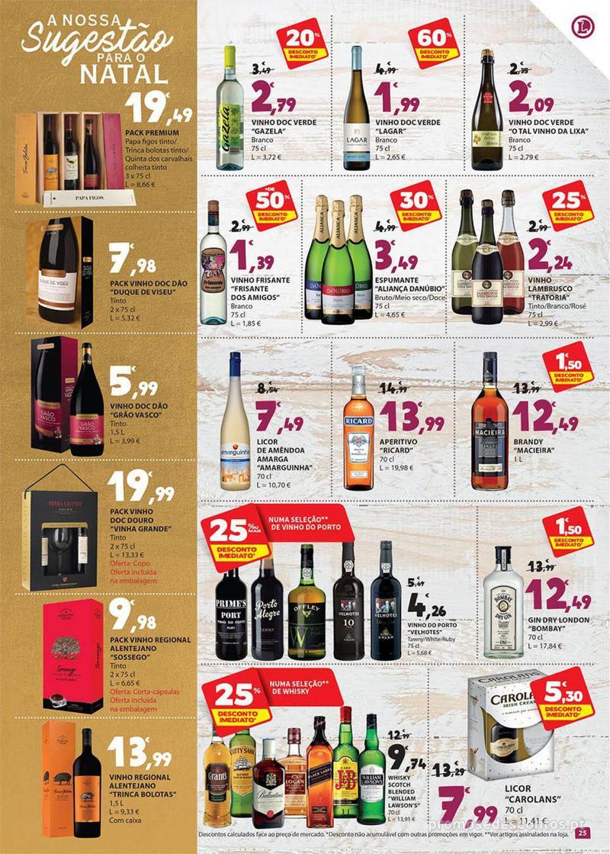 Folheto E.leclerc Preço Baixos mesmo de verdade - 4 de Dezembro a 10 de Dezembro - página 25