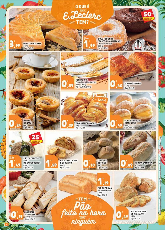 Folheto E.leclerc Preço Baixos mesmo de verdade - 4 de Dezembro a 10 de Dezembro - página 4