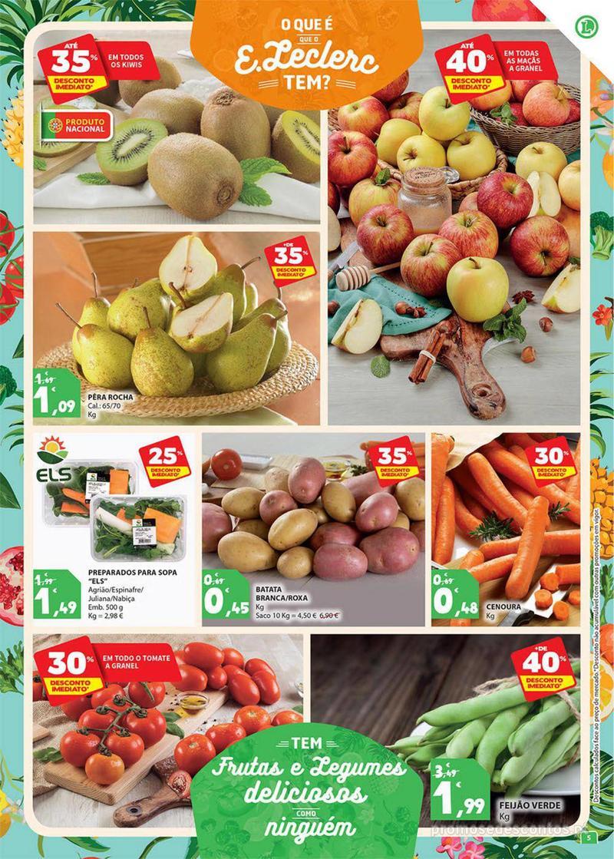 Folheto E.leclerc Preço Baixos mesmo de verdade - 4 de Dezembro a 10 de Dezembro - página 5