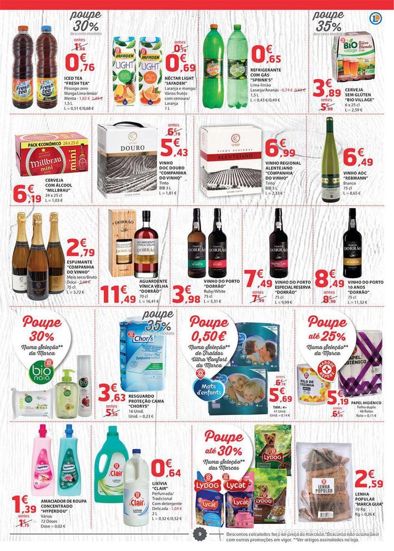 Folheto E.leclerc Preço Baixos mesmo de verdade - 4 de Dezembro a 10 de Dezembro - página 9