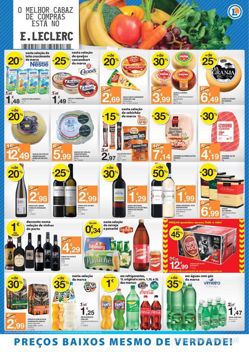 Folheto E.leclerc O melhor cabaz de compras está aqui - 13 de Agosto a 15 de Agosto - página 4