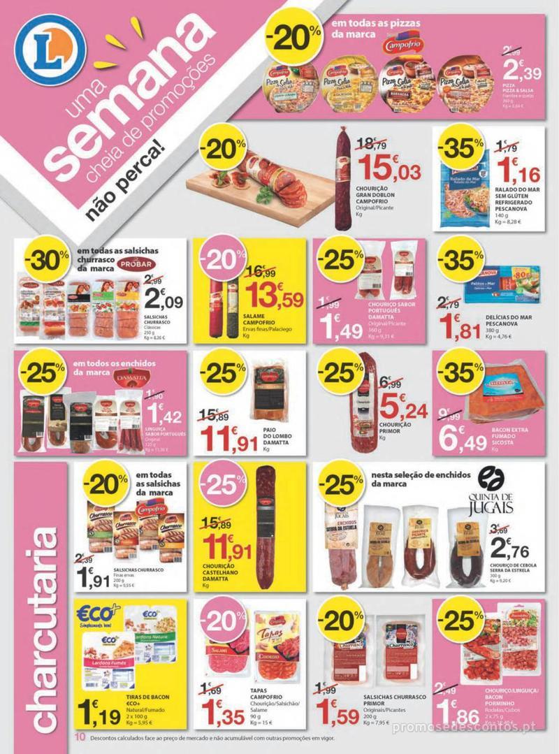 Folheto E.leclerc Uma semana cheia de promoções - 8 de Agosto a 14 de Agosto - página 10