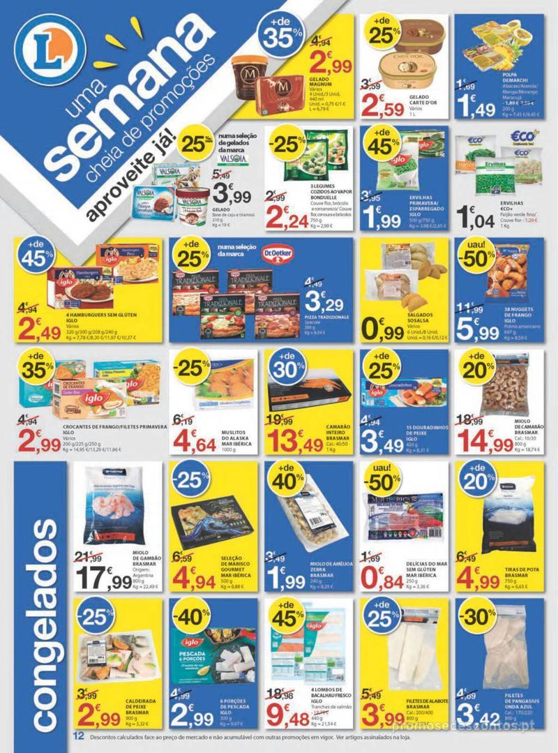 Folheto E.leclerc Uma semana cheia de promoções - 8 de Agosto a 14 de Agosto - página 12