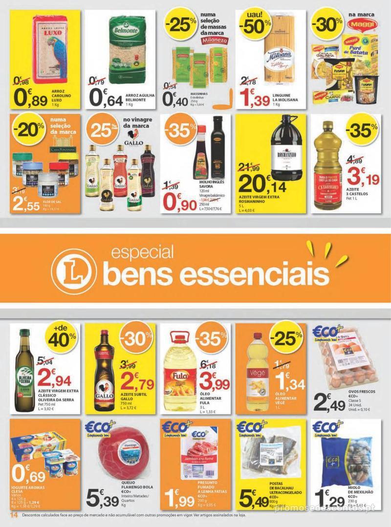 Folheto E.leclerc Uma semana cheia de promoções - 8 de Agosto a 14 de Agosto - página 14