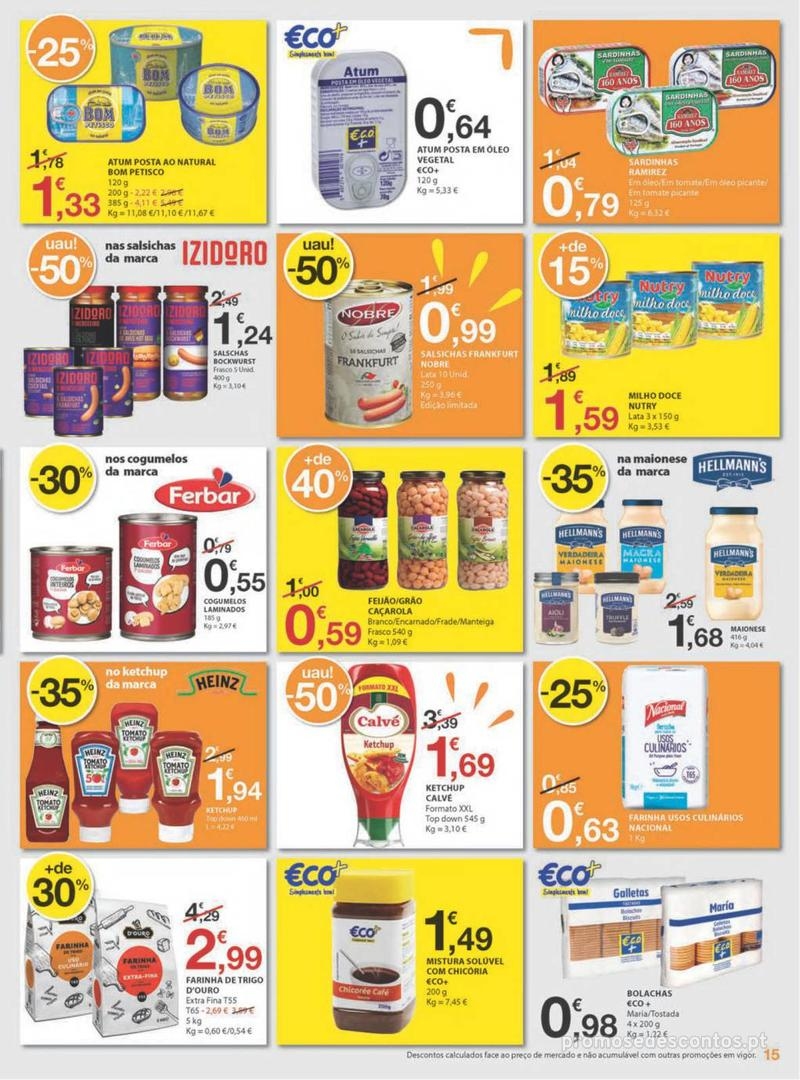 Folheto E.leclerc Uma semana cheia de promoções - 8 de Agosto a 14 de Agosto - página 15