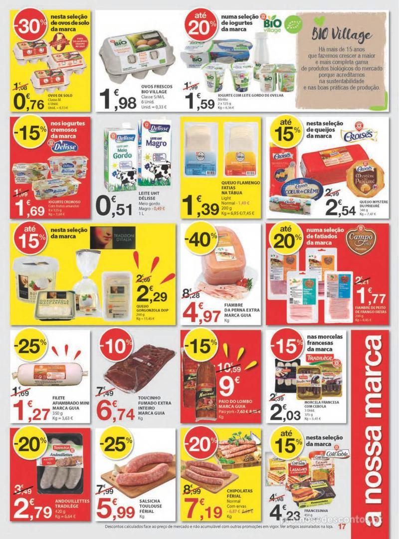 Folheto E.leclerc Uma semana cheia de promoções - 8 de Agosto a 14 de Agosto - página 17