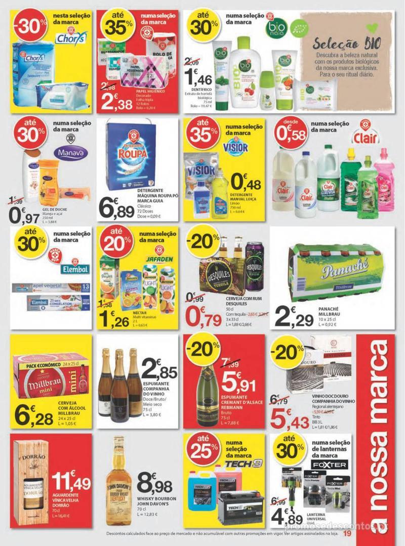 Folheto E.leclerc Uma semana cheia de promoções - 8 de Agosto a 14 de Agosto - página 19
