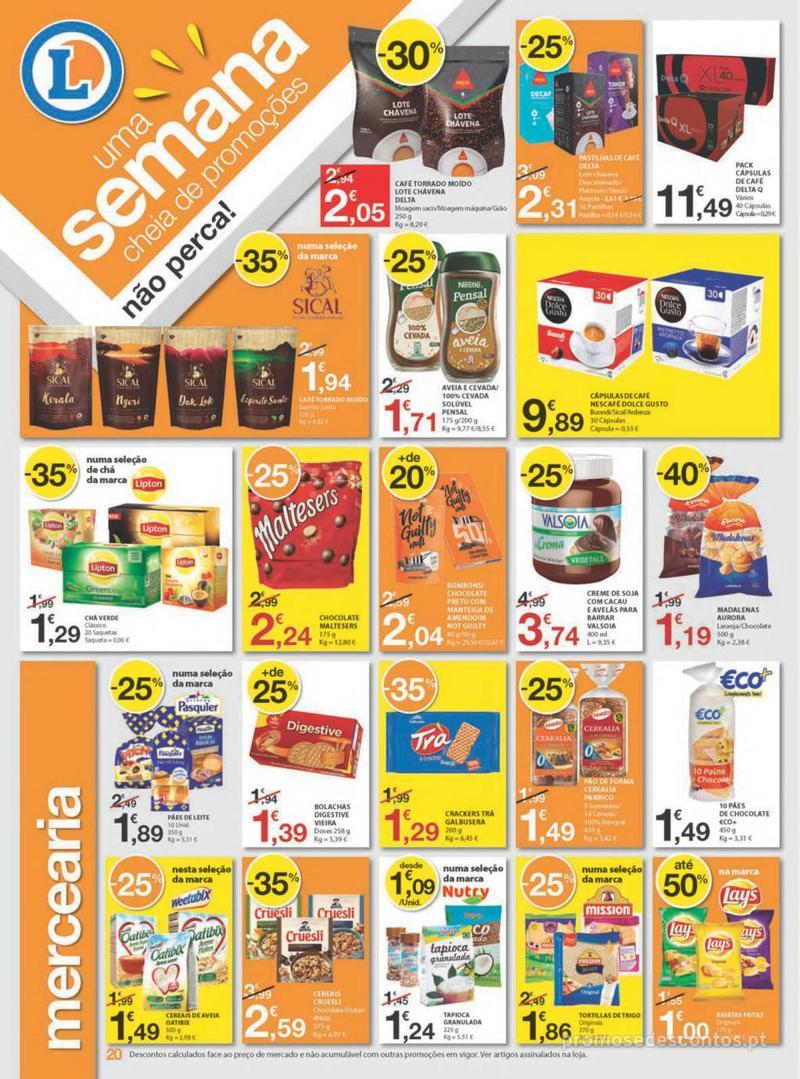 Folheto E.leclerc Uma semana cheia de promoções - 8 de Agosto a 14 de Agosto - página 20