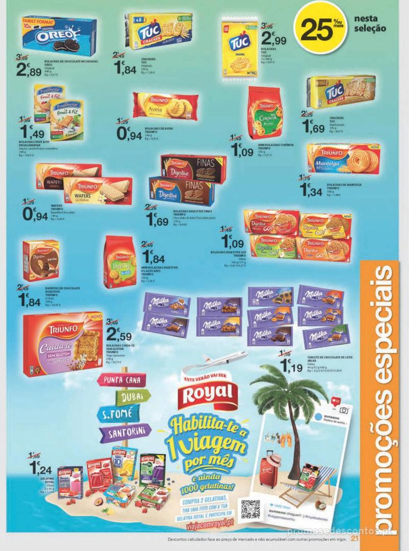 Folheto E.leclerc Uma semana cheia de promoções - 8 de Agosto a 14 de Agosto - página 21