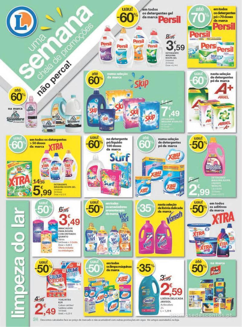 Folheto E.leclerc Uma semana cheia de promoções - 8 de Agosto a 14 de Agosto - página 24