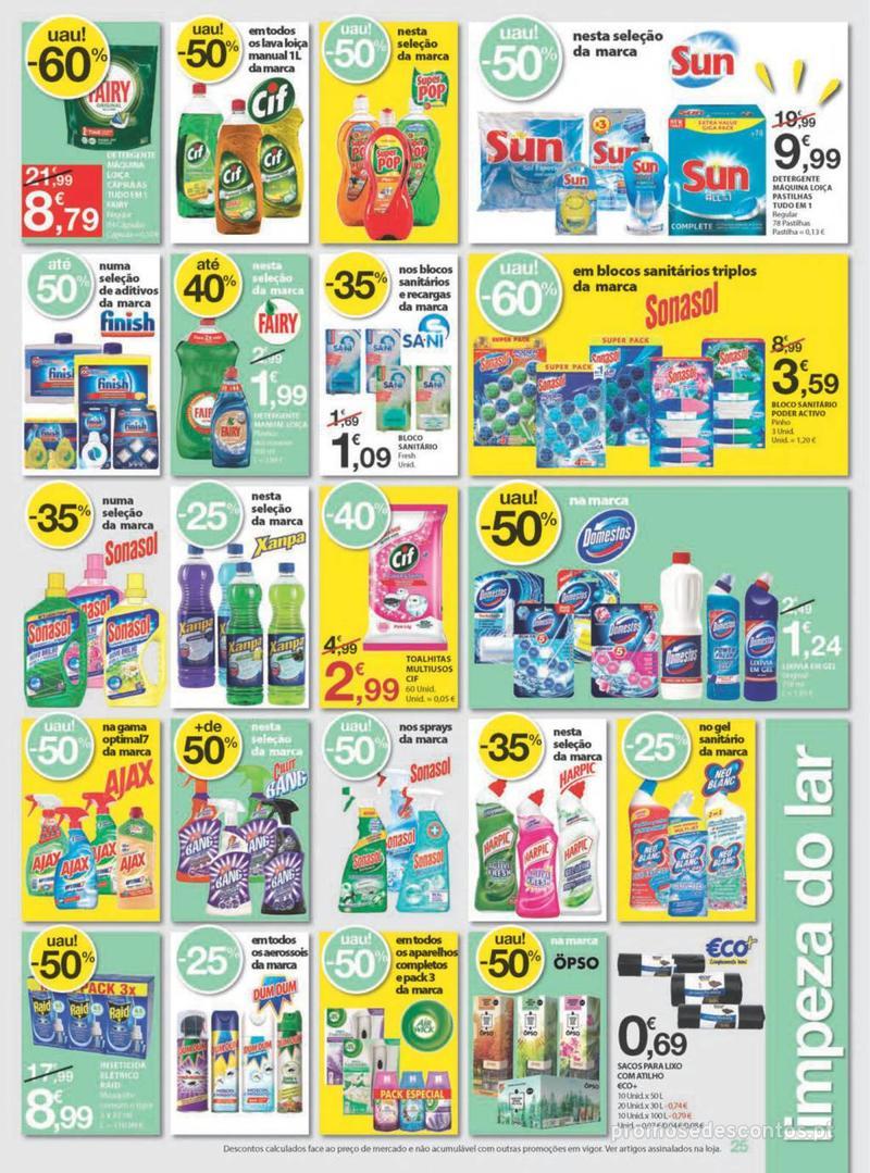 Folheto E.leclerc Uma semana cheia de promoções - 8 de Agosto a 14 de Agosto - página 25