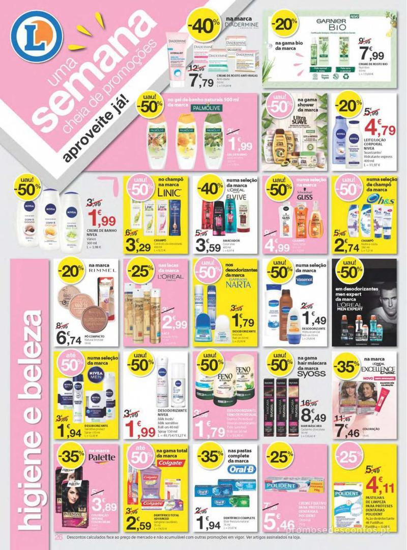 Folheto E.leclerc Uma semana cheia de promoções - 8 de Agosto a 14 de Agosto - página 26