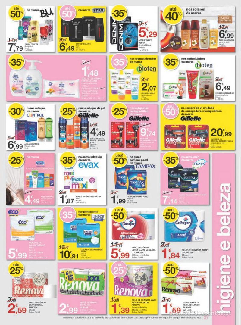 Folheto E.leclerc Uma semana cheia de promoções - 8 de Agosto a 14 de Agosto - página 27