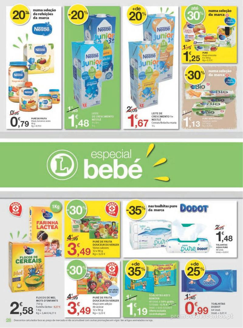 Folheto E.leclerc Uma semana cheia de promoções - 8 de Agosto a 14 de Agosto - página 28