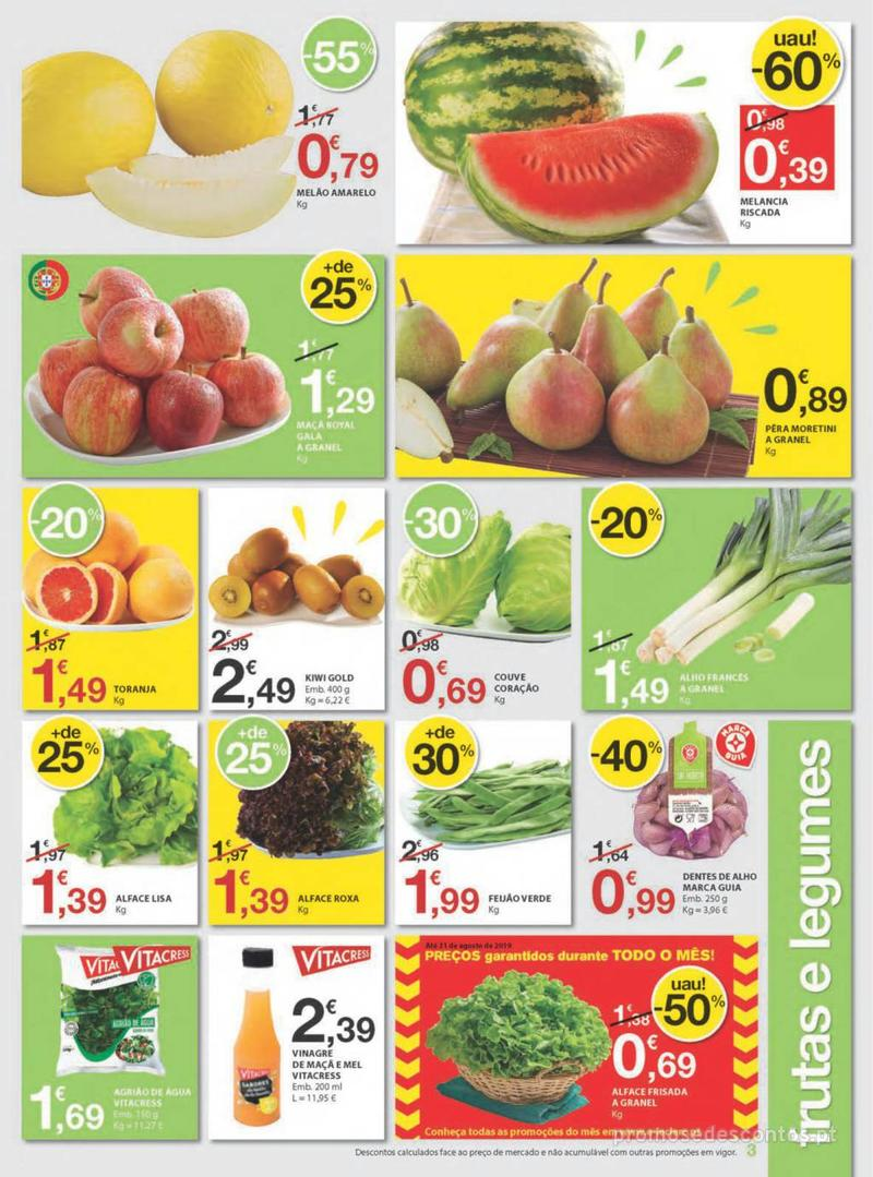 Folheto E.leclerc Uma semana cheia de promoções - 8 de Agosto a 14 de Agosto - página 3