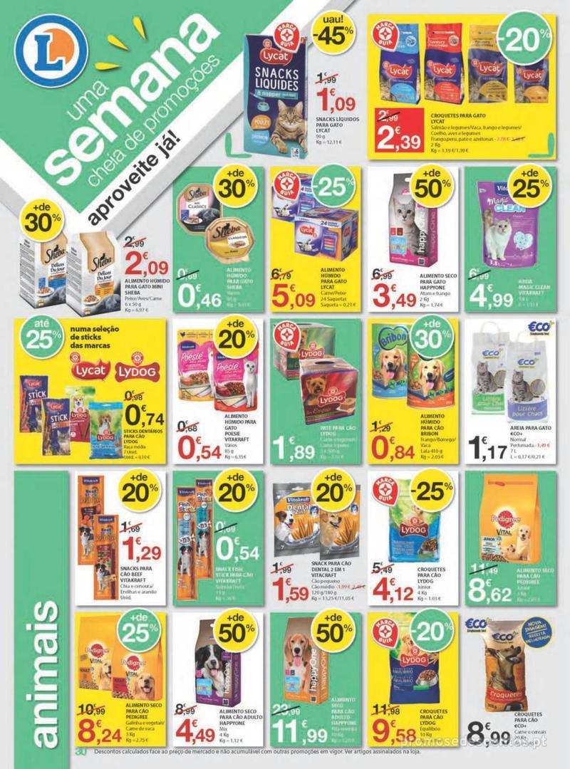 Folheto E.leclerc Uma semana cheia de promoções - 8 de Agosto a 14 de Agosto - página 30