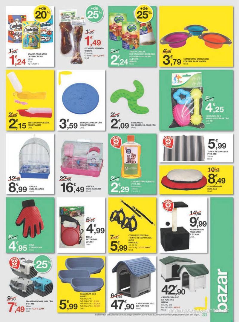 Folheto E.leclerc Uma semana cheia de promoções - 8 de Agosto a 14 de Agosto - página 31