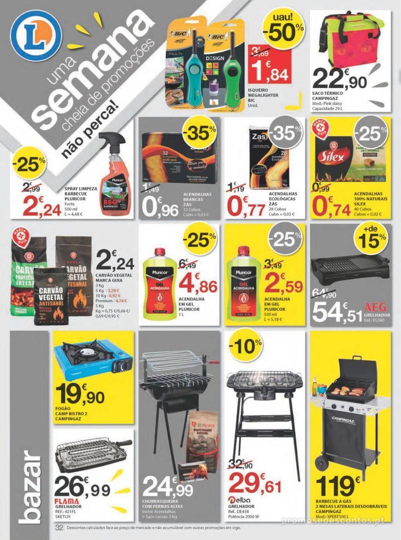 Folheto E.leclerc Uma semana cheia de promoções - 8 de Agosto a 14 de Agosto - página 32