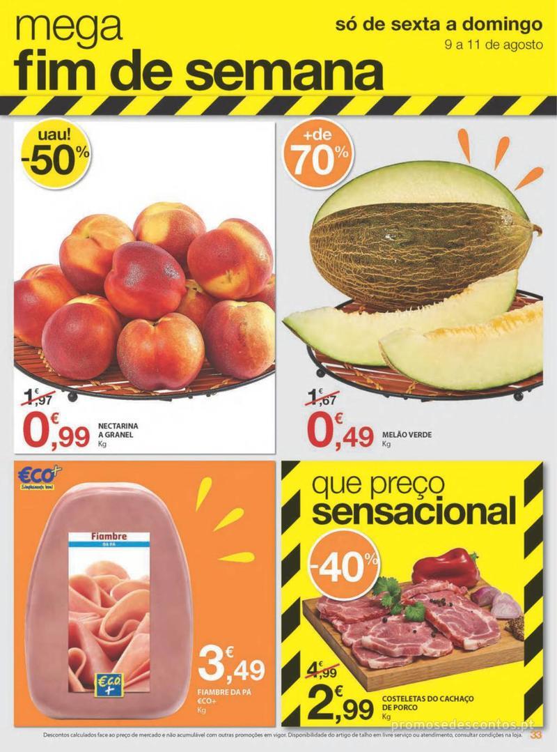 Folheto E.leclerc Uma semana cheia de promoções - 8 de Agosto a 14 de Agosto - página 33