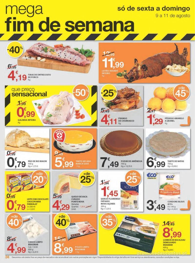 Folheto E.leclerc Uma semana cheia de promoções - 8 de Agosto a 14 de Agosto - página 34