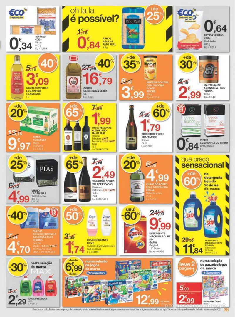 Folheto E.leclerc Uma semana cheia de promoções - 8 de Agosto a 14 de Agosto - página 35