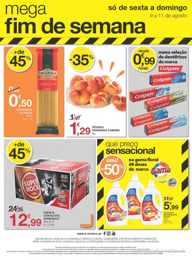 Folheto E.leclerc Uma semana cheia de promoções - 8 de Agosto a 14 de Agosto - página 36
