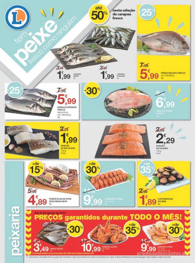 Folheto E.leclerc Uma semana cheia de promoções - 8 de Agosto a 14 de Agosto - página 4