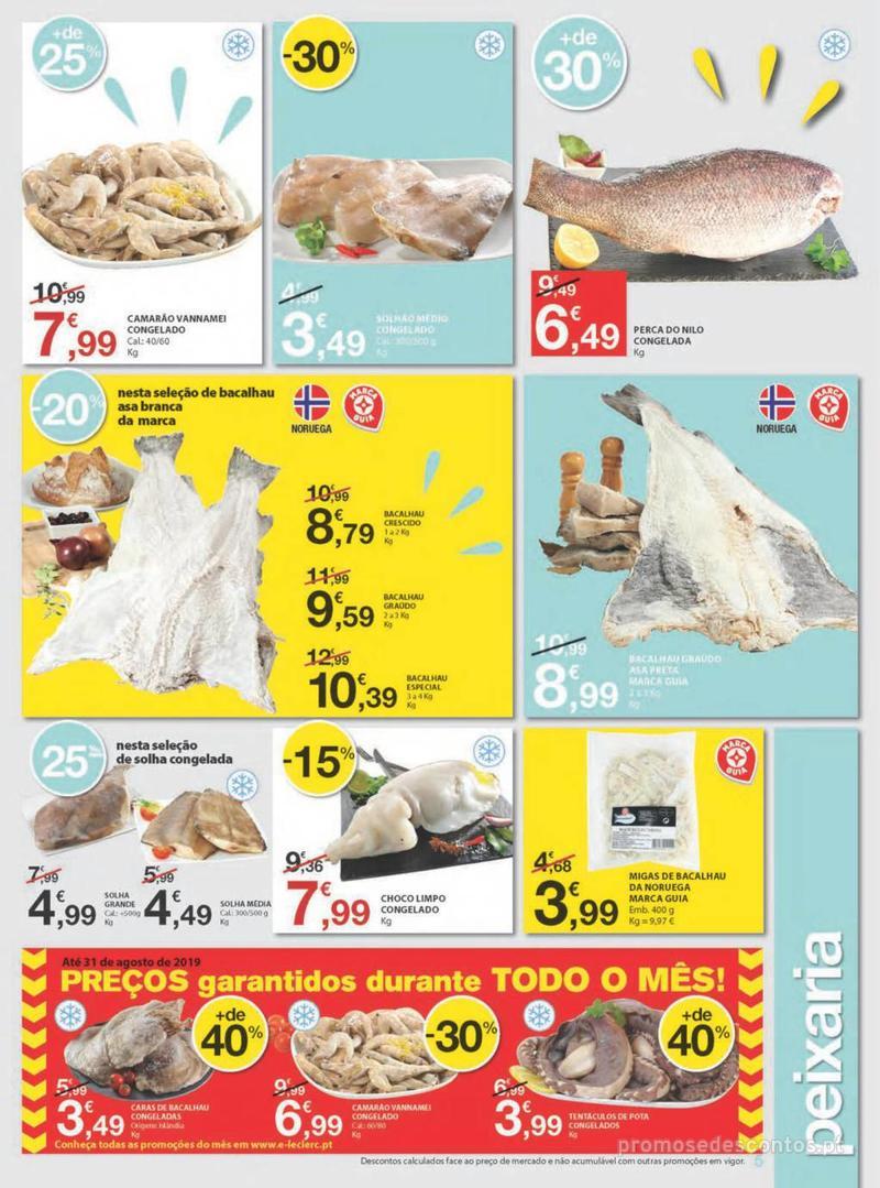 Folheto E.leclerc Uma semana cheia de promoções - 8 de Agosto a 14 de Agosto - página 5