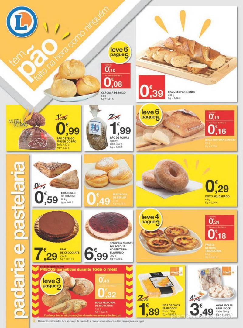 Folheto E.leclerc Uma semana cheia de promoções - 8 de Agosto a 14 de Agosto - página 6