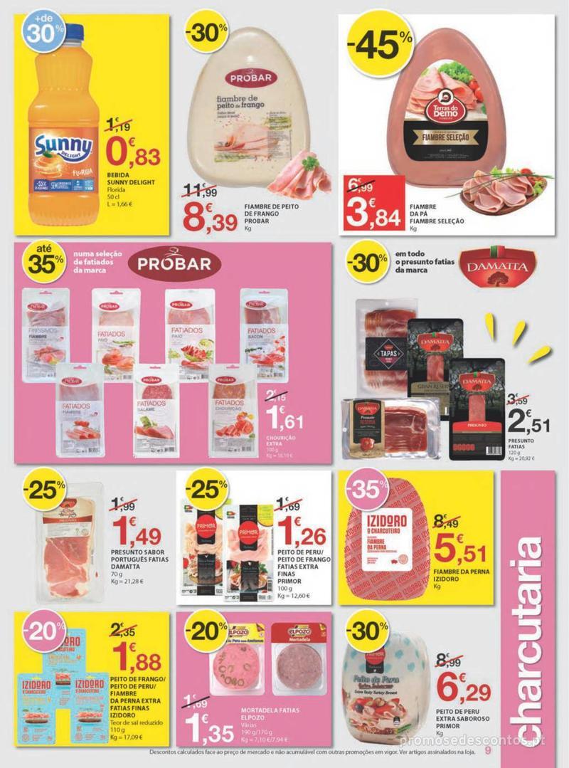 Folheto E.leclerc Uma semana cheia de promoções - 8 de Agosto a 14 de Agosto - página 9