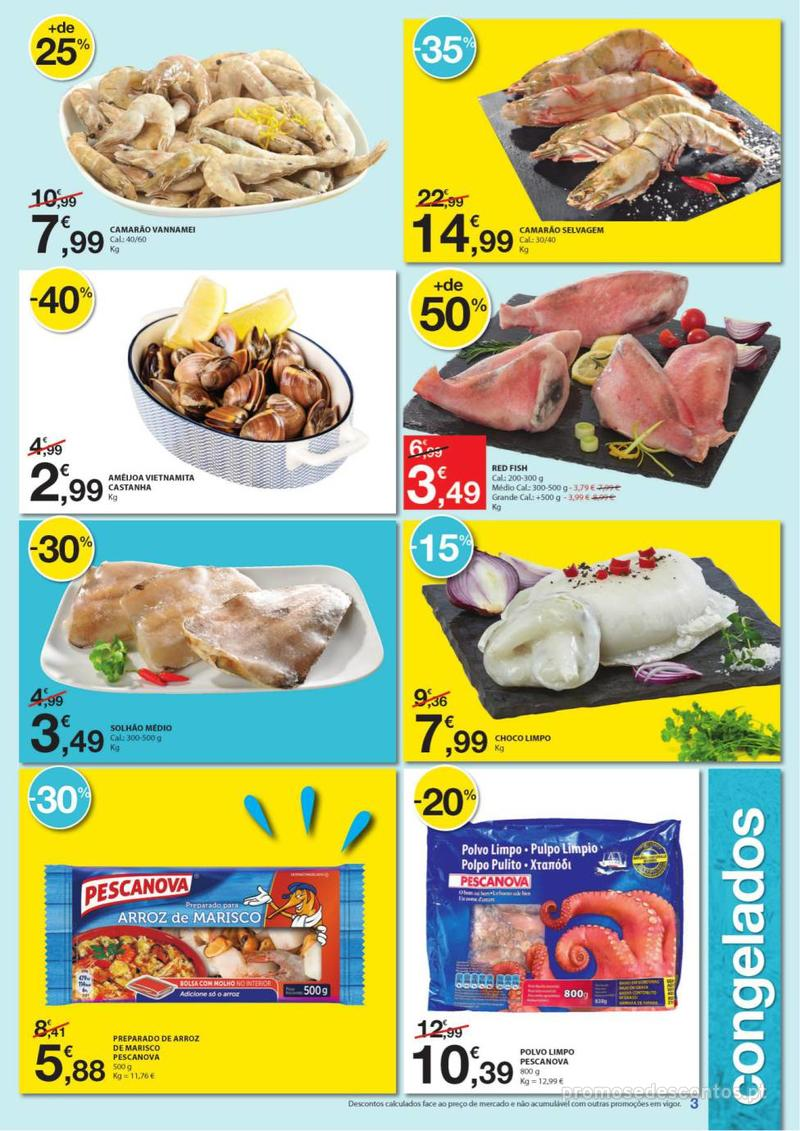 Folheto E.leclerc Especial Congelados - 3 de Junho a 16 de Junho - página 3
