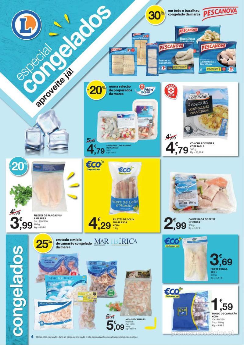Folheto E.leclerc Especial Congelados - 3 de Junho a 16 de Junho - página 4