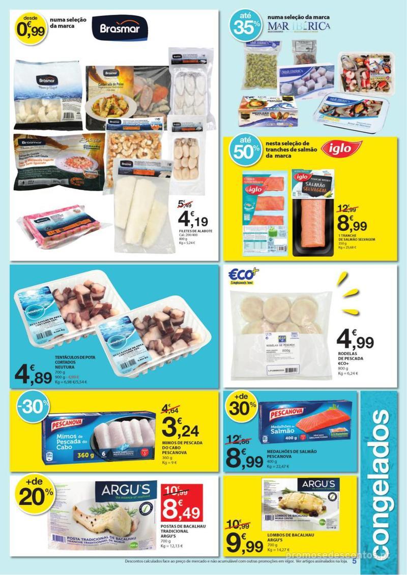 Folheto E.leclerc Especial Congelados - 3 de Junho a 16 de Junho - página 5