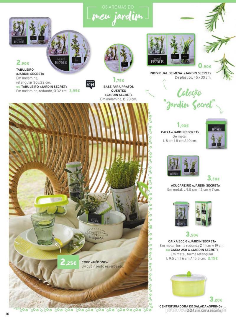 Folheto E.leclerc Mesa e Cozinha - 1 de Abril a 30 de Setembro - página 10