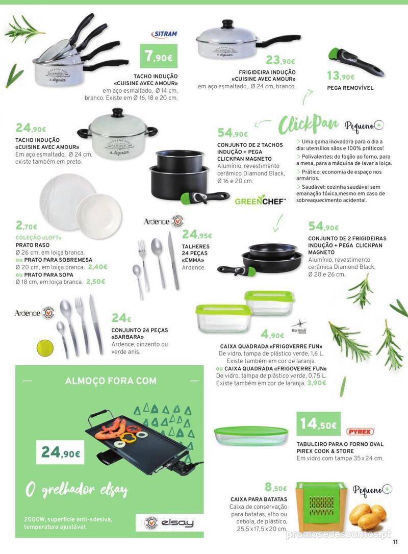 Folheto E.leclerc Mesa e Cozinha - 1 de Abril a 30 de Setembro - página 11