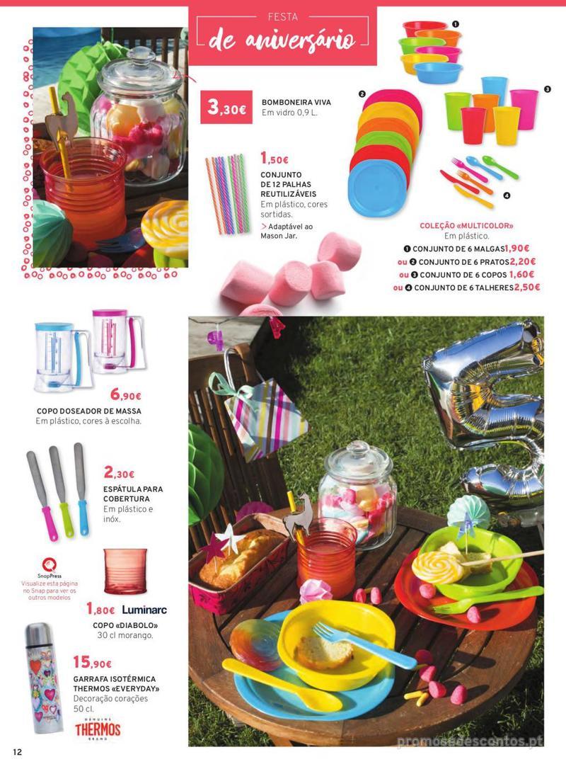 Folheto E.leclerc Mesa e Cozinha - 1 de Abril a 30 de Setembro - página 12