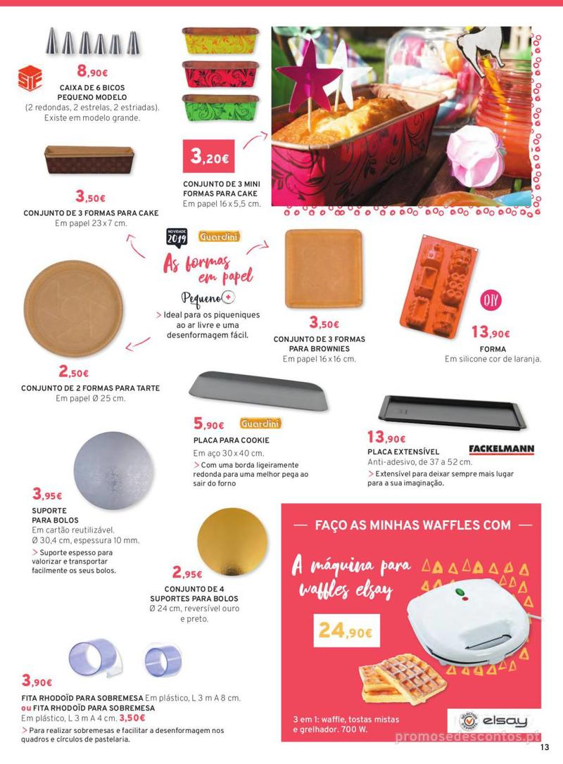 Folheto E.leclerc Mesa e Cozinha - 1 de Abril a 30 de Setembro - página 13