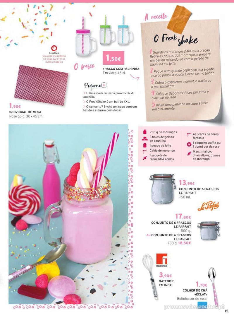 Folheto E.leclerc Mesa e Cozinha - 1 de Abril a 30 de Setembro - página 15