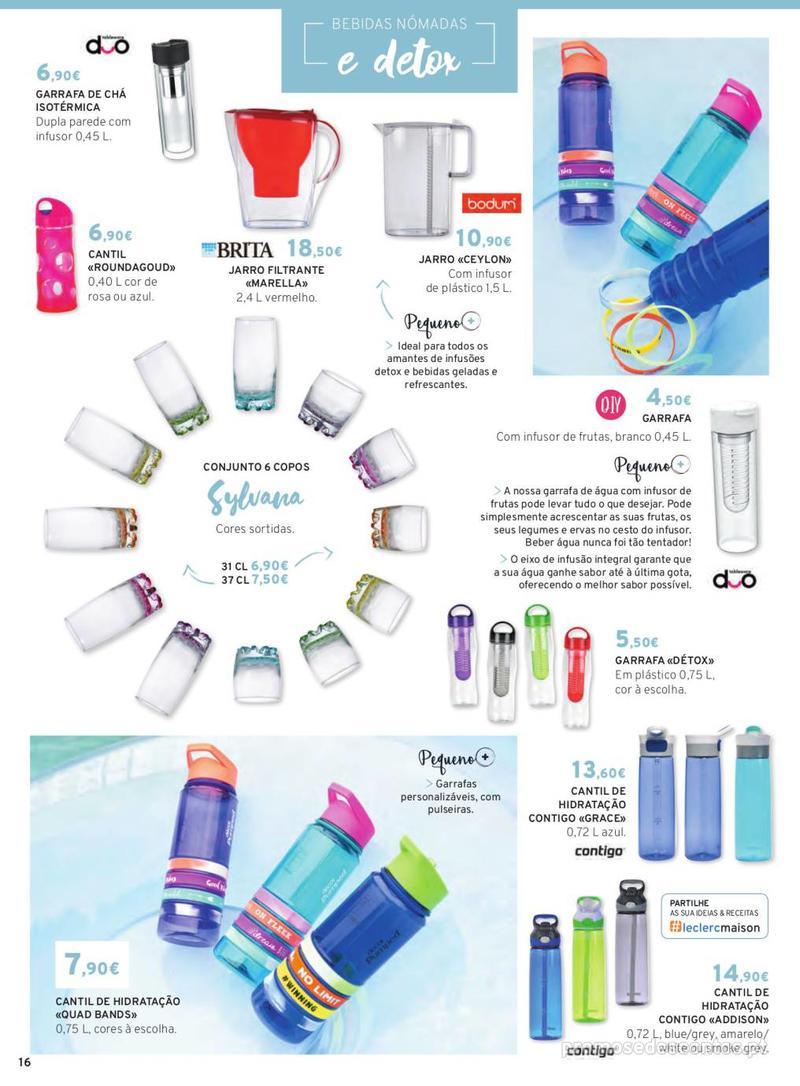 Folheto E.leclerc Mesa e Cozinha - 1 de Abril a 30 de Setembro - página 16