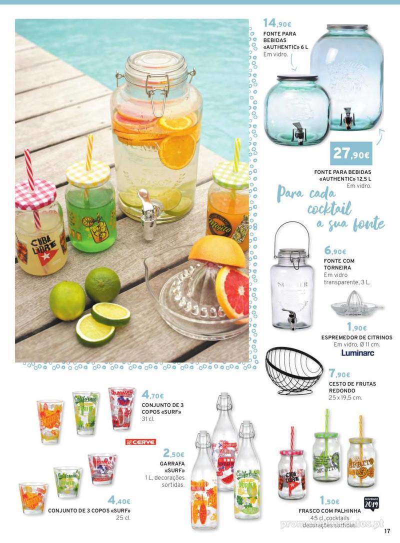 Folheto E.leclerc Mesa e Cozinha - 1 de Abril a 30 de Setembro - página 17