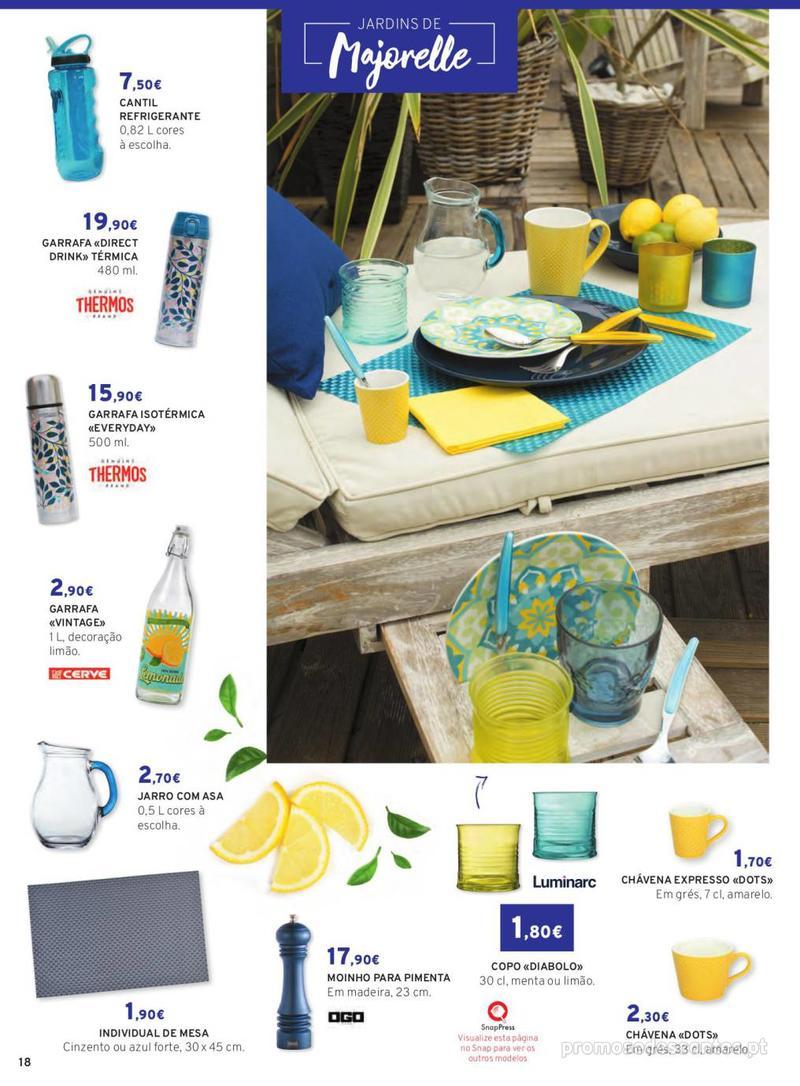 Folheto E.leclerc Mesa e Cozinha - 1 de Abril a 30 de Setembro - página 18