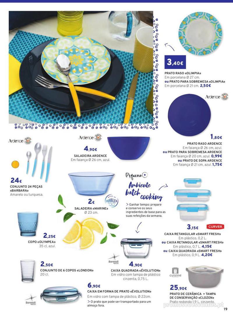 Folheto E.leclerc Mesa e Cozinha - 1 de Abril a 30 de Setembro - página 19